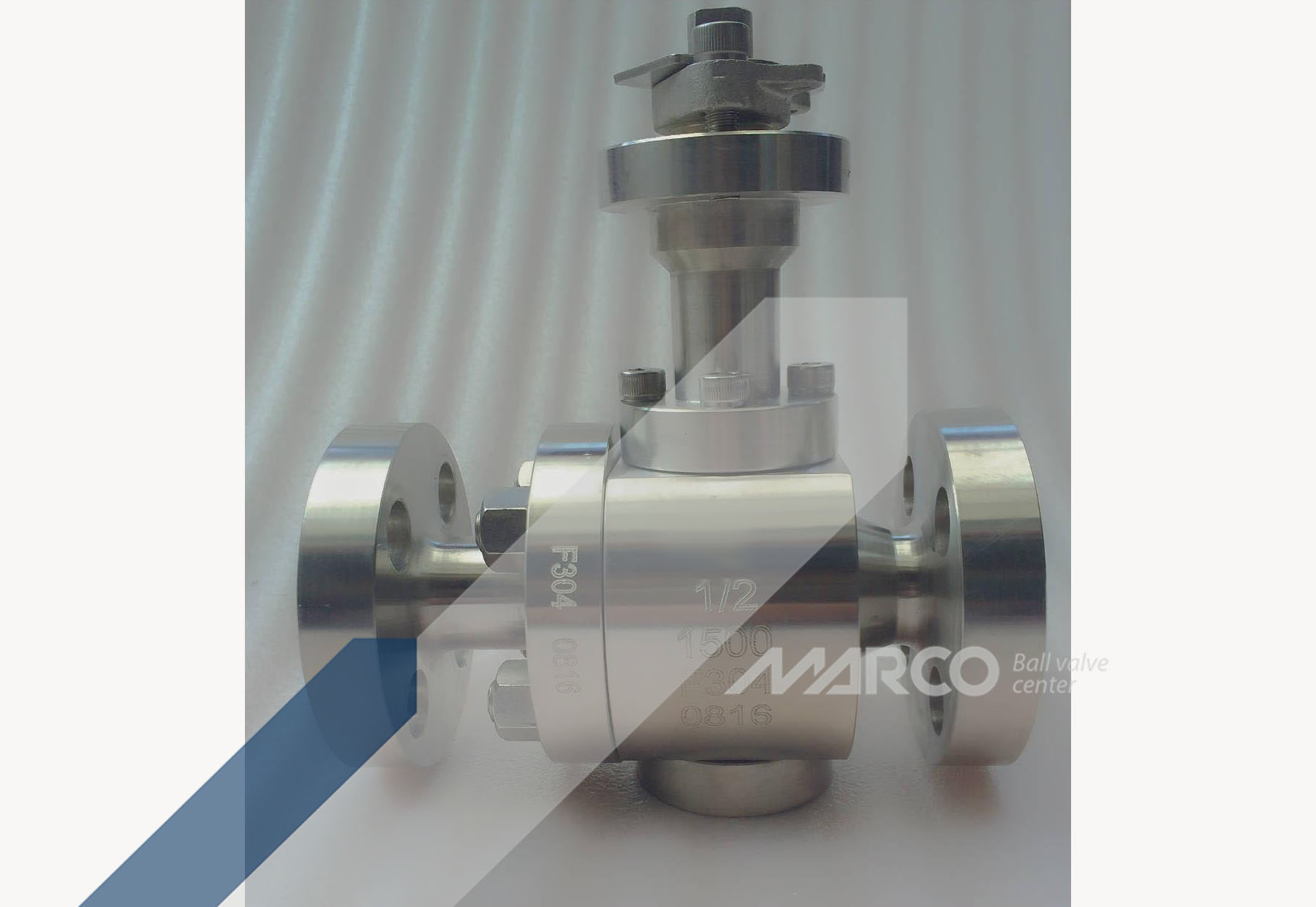 <b>METAL SEATED BALL VALVE</b>