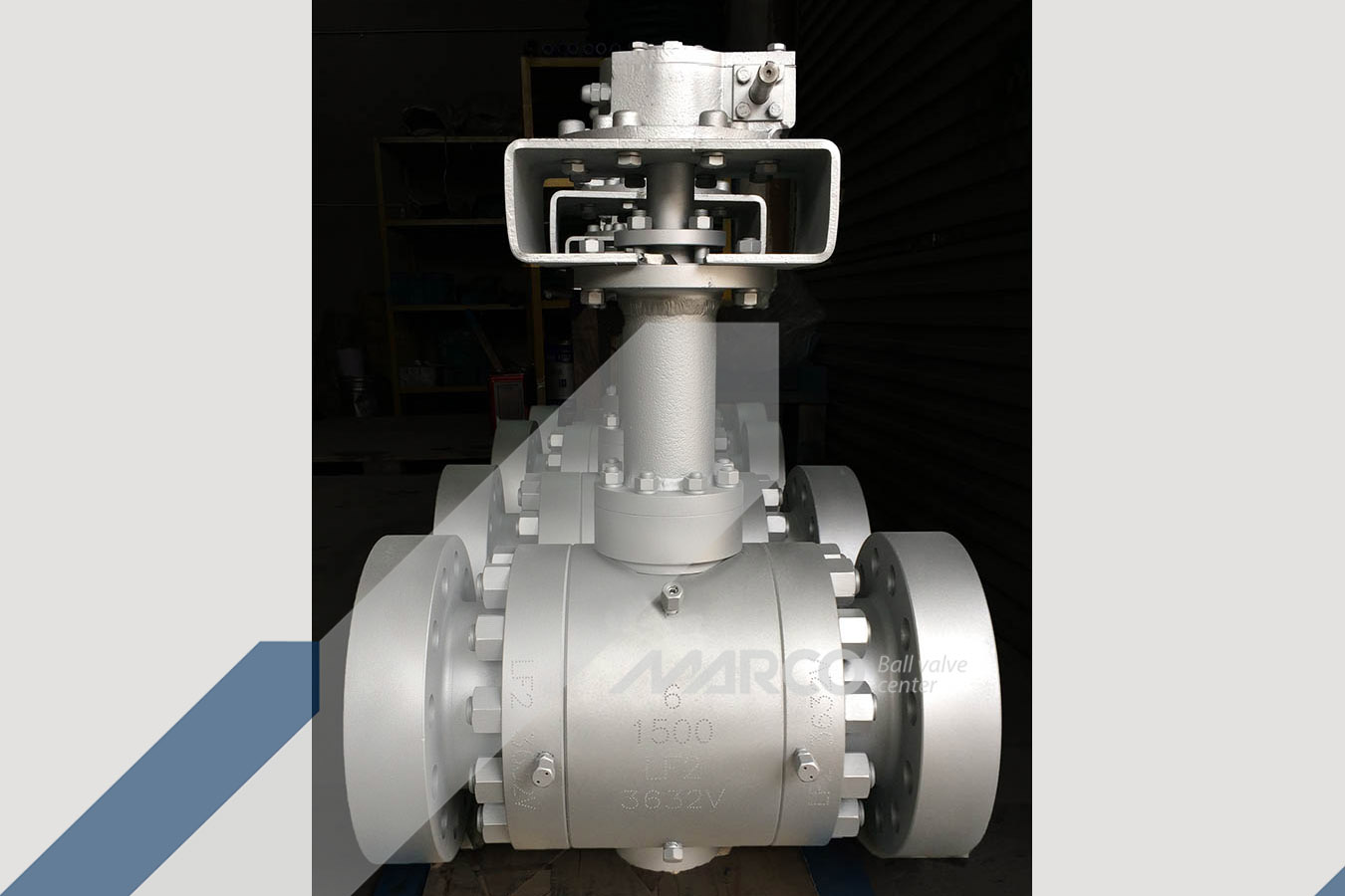<b>TRUNNION BALL VALVE</b>
