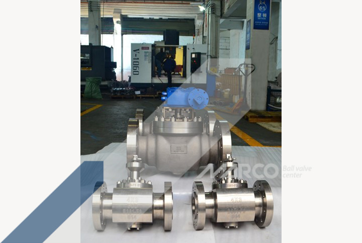 <b>TOP ENTRY BALL VALVE</b>